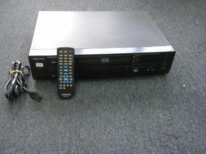 Vintage Toshiba Model SD 3109U DVD Video Player Dual Disc System w remote 273949770125