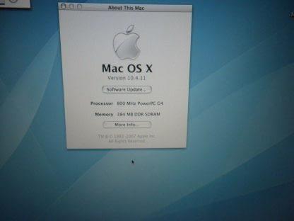 Apple iBook A1054 121 Laptop M9426LLA April 2004 10411 274288796242 3