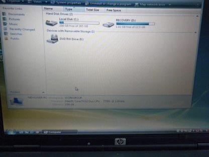 Vintage HP Compaq 6910us Laptop Notebook All Original Windows Vista Works great 264570326684 3