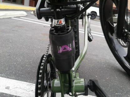 Folding Electric Mountain Bike ebike Men Women Full Suspension 264297090909 11