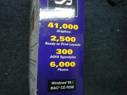 Print Artist Gold Edition PC MAC CD Windows 95 Macintosh New Sealed 264352166562 5
