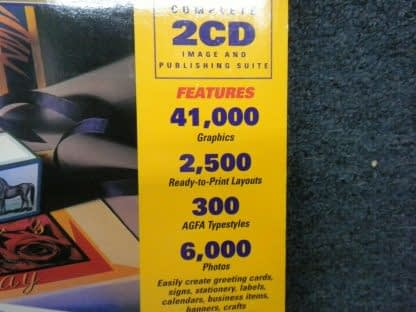Print Artist Gold Edition PC MAC CD Windows 95 Macintosh New Sealed 264352166562 6
