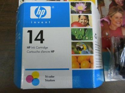 Lot of 4 Genuine HP 14 Black TrI color ink Cartridge CP1160 C5011D Sealed NEW 274265552825 2
