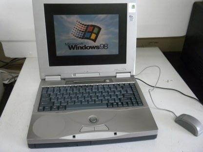 VINTAGE FUJITSU LIFEBOOK C353 Works Windows 98 264607168590
