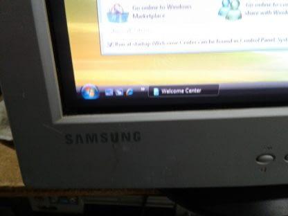 Vintage Samsung Syncmaster 753DF 17 VGA RGB CRT Computer Monitor Works Good A 274433708648 7