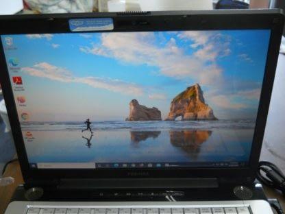 Toshiba Satellite A205 S6808 15 Notebook PC computer Windows 10 120GB SSD 274403523196 3