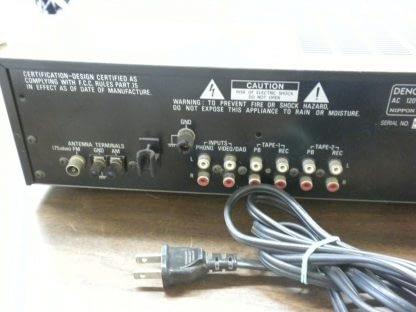 Denon DRA 550 Home Stereo Precision Audio Component Tuner Amp Receiver Works 264580448066 6