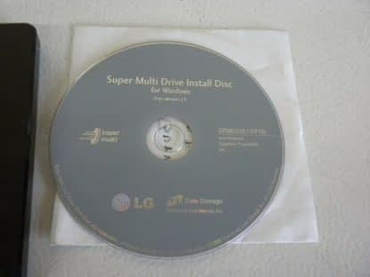 LG External Slim Portable DVD Writer Model SP60NB50 Works Great with software 274115797255 5