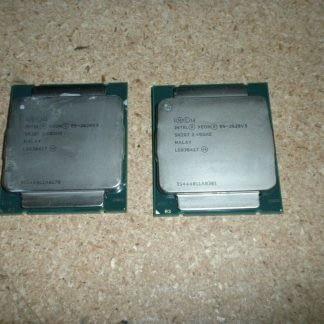 LOT OF 2 Intel Xeon E5 2620 v3 24GHz 20MB 8GTs SR207 LGA2011 6 Core CPU 274037371235