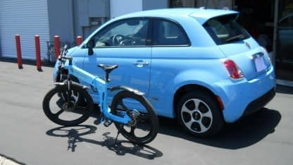 Folding Electric ebike Bike Commute City Road and Off Road Men Women 60mi Range 264298338536 5
