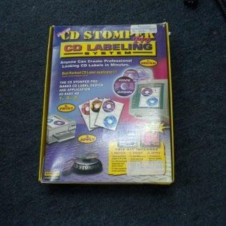 Vintage CD STOMPER PRO CD LABELING SYSTEM Win 95 98 31 NT 264352239627