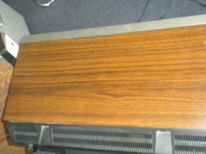 Vintage Mitsubishi TV CS 1945R Television Woodgrain 1987 Excellent CRT TV 264285108799 11