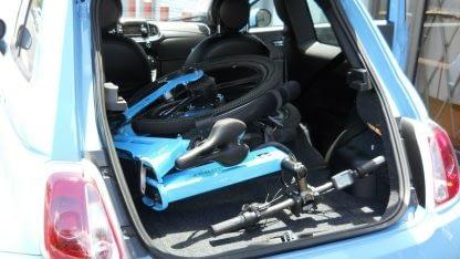 Folding Electric ebike Bike Commute City Road and Off Road Men Women 60mi Range 264298338536 6
