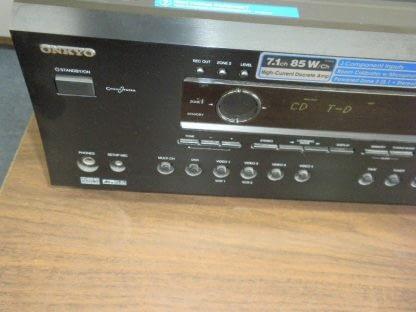 Onkyo TX SR602 71 Channel 85w x7 600W Home Theater AV Receiver Works Great 264594046348 4