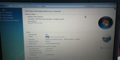 Vintage HP Compaq 6910us Laptop Notebook All Original Windows Vista Works great 264570326684 2