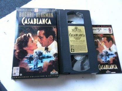 lot of 9 VHS Casablanca Father of bride Heartburn An Affair to remember Gigi etc 264517366710 3