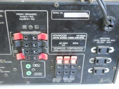 Vintage KENWOOD KR V8030 Audio Video Receiver 274405645603 4
