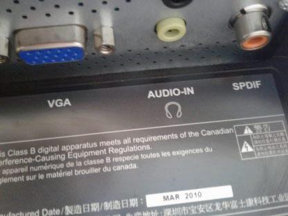ASUS VH242H LCD Monitor DVI VGA HDMI Works GREAT 274441053450 7