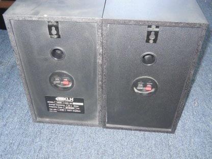 KLH L652B 100W Bookshelf Speakers Pair 264580448056 5