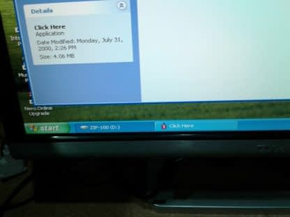 Vintage Gateway Select 1100 desktop PC Win XP Works GREAT 264845908953 10