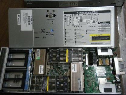 HP BL460c G7 Blade Server Dual Xeon 5620 24 Quad CPU 96GB RAM No HD 273979036378 3