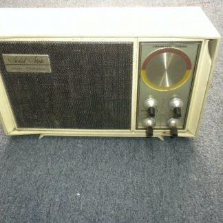 1960s Sears Silvertone Solid State Radio Chromatic AM Radio Mid Century Modern 274147844892