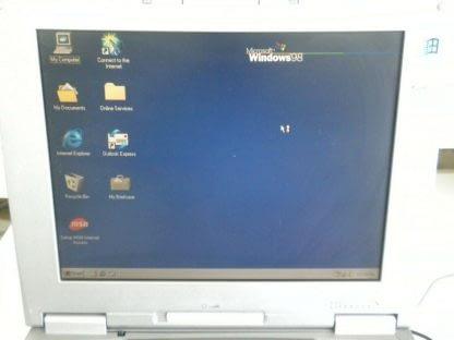 VINTAGE FUJITSU LIFEBOOK C353 Works Windows 98 264607168590 4