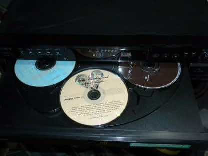 Vintage Sony 5 disc CD changer Amplifier Speaker Set Works Perfect Looks Great 264594046341 5