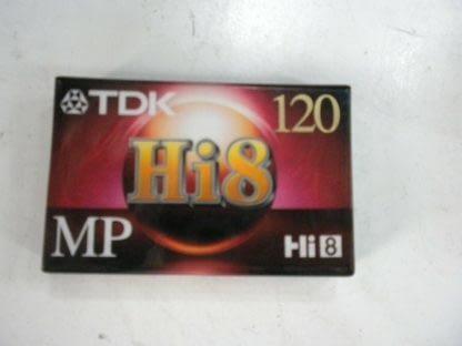 TDK Hi8 Mp 120 Tape Recorder Cassettes Brand New Sealed In Plastic 264607831708
