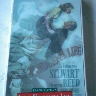 Its a Wonderful Life VHS 1993 Uncut Slipsleeve Lenticular Hologram 3D Flicker 264517228256