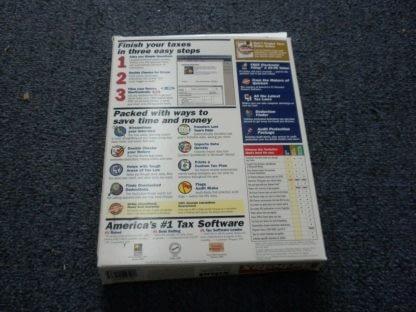 Intuit TurboTax 1999 Federal Return with Box Windows 264349538368 7