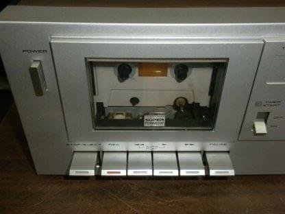 Akai CS M01A Dolby Cassette Deck Super Clean Needs Belt 273746090111 6