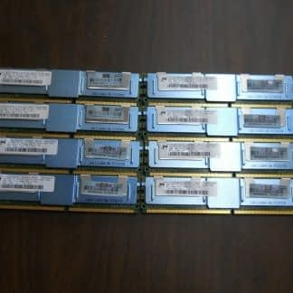 16GB Lot 8 HP 2GB PC2 5300 ECC Buffered DDR2 667MHz Server RAM HP 264304665649