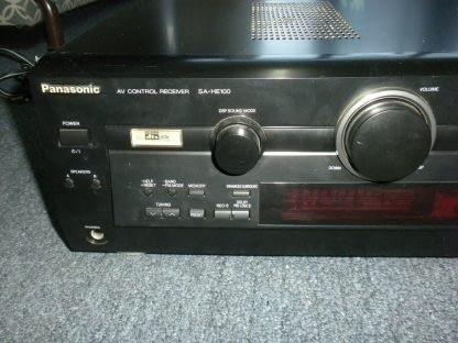 Panasonic SA HE100 350W Multi Input MOS FET Audio Video Home Theater Receiver 264277759756 10