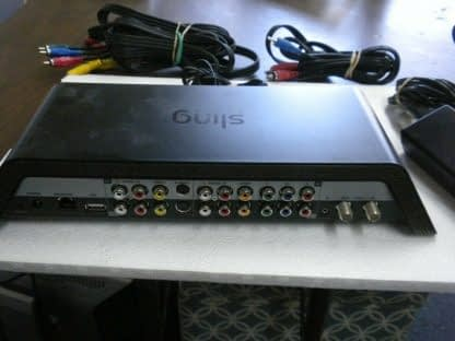 Sling Media Slingbox SB300 XXX with Cable Cords Works Great 264385027029 3