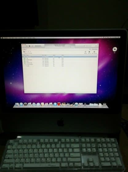 Apple iMac 20 Great Runs Snow Leopard 274647518571 7