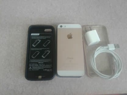 Apple iPhone SE 64GB Rose Gold T mobile Only A1662 Good condition Bundle 264883879607 12