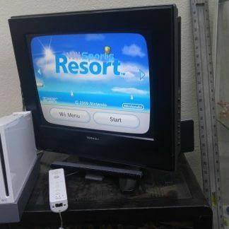 Nintendo Wii Lot 4 Controller 2 Nunchucks Balance Pad 2 Wheels Sensor Bar Works 273640354706