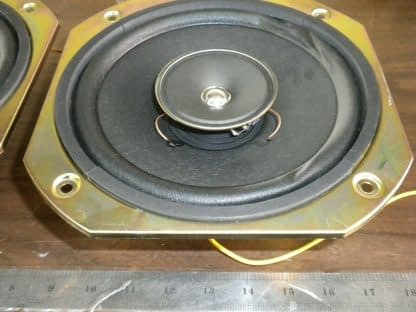 Pair SONY 40 Watt 8 Ohm 8 Diameter Full Range Speakers 1 544 014 11 274129145584 3
