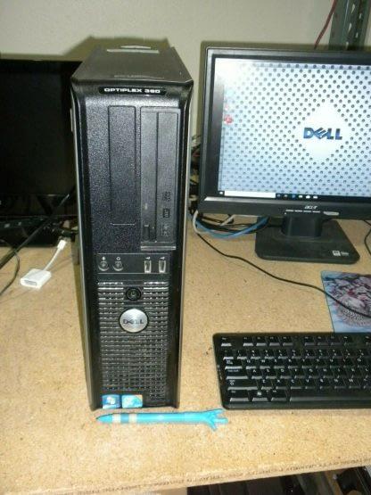 Dell Optiplex 360 SFF Windows 10 Pro Desktop PC Works 274219167243 2