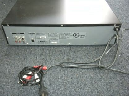 Vintage Sony 5 disc CD changer Amplifier Speaker Set Works Perfect Looks Great 264594046341 6