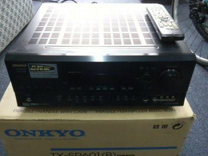 Vintage Onkyo TX SR601 61 Channel 110 Watt Receiver 264594046339 6
