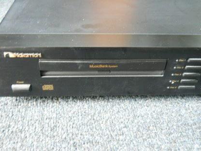 Vintage Rare Nakamichi MB 8 CD Player 5 disc Musicbank Changer 264714732727 5