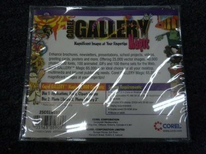 Corel Gallery Magic 65000 Windows 31x runs on Windows 95 New Sealed 264352118457 3