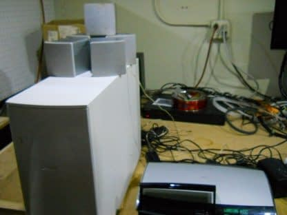 Bose AV28 DVD Player PS48 Powered White Subwoofer Sony Speakers Cables 264716940203 6