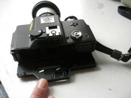 Vintage Minolta110 ZOOM SLR CAMERA With Case 273944048830 9