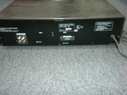 Vintage Audiophile Sony TC WR465 Dual Cassette Tape Deck working 264277759752 5