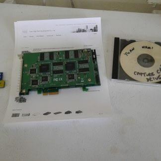 Yuan SC580N4 4 port Full HD 1920x1080 30fps PCI e Capture Card HDMI H264 DVR 274552408821