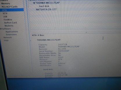 Apple iBook G3 500MHz 196MB RAM 15GB HDD READ 264762084863 3