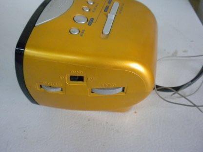 SONY Dream Machine ICF C111 Alarm Clock Nice condition Yellow 264541113739 2